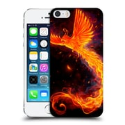 Official Christos Karapanos Phoenix Immortal Flames Alternative Hard Back Case For Apple Iphone 5 / 5S / Se