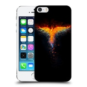 Official Christos Karapanos Phoenix 2 Bird 3 Hard Back Case For Apple Iphone 5 / 5S / Se