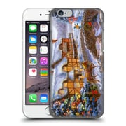 Official Christmas Mix Winter Wonderland Nicky Boehme Country Cottages Hard Back Case For Apple Iphone 6 / 6S