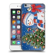 Official Christmas Mix Snowman William Vanderdasson Decorating Tree Hard Back Case For Apple Iphone 6 Plus / 6S Plus