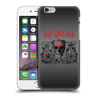 Official Def Leppard Design Skull Target Hard Back Case For Apple Iphone 6 / 6S