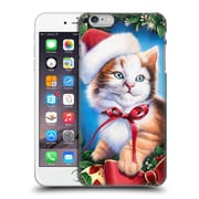 Official Christmas Mix Pets Jenny Newland Kitty Hard Back Case For Apple Iphone 6 Plus / 6S Plus