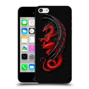 Official Christos Karapanos Dragons Master Red Hard Back Case For Apple Iphone 5C