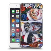 Official Christmas Mix Pets Jenny Newland Cats In Window Hard Back Case For Apple Iphone 6 Plus / 6S Plus