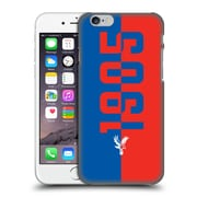 Official Crystal Palace Fc The Eagles 1905 Hard Back Case For Apple Iphone 6 / 6S