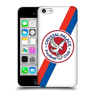 Official Crystal Palace Fc 2016/17 Retro Badge 70'S Eagle Logo Hard Back Case For Apple Iphone 5C