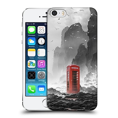 Official Daniel Conway Surreal Scenery Phonebooth Hard Back Case For Apple Iphone 5 / 5S / Se