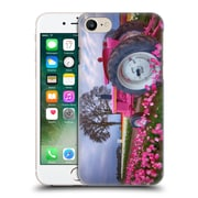 Official Darren White Wild Flower Plants And Blooms Pink Hard Back Case For Apple Iphone 7