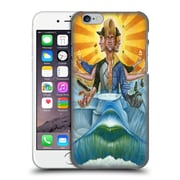 Official Rusty Sherrill Artworks The Deity Of Surf, Skate, And Snow Hard Back Case For Apple Iphone 6 / 6S