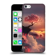 Official Daniel Conway Cherry Blossoms Scorched Earth Hard Back Case For Apple Iphone 5C