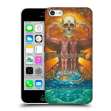 Official Rusty Sherrill Artworks Hate Hard Back Case For Apple Iphone 5C