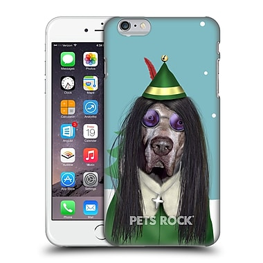 Official Pets Rock Christmas Xmas Metal Hard Back Case For Apple Iphone 6 Plus / 6S Plus
