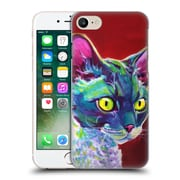 Official Dawgart Cats Devon Rex Hard Back Case For Apple Iphone 7