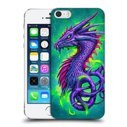 Official Christos Karapanos Dragons Poison Hard Back Case For Apple Iphone 5 / 5S / Se