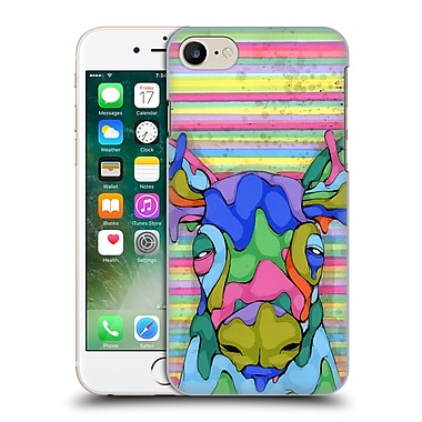 Official Ric Stultz Animals 2 Overwhelmed By The Spectrum Hard Back Case For Apple Iphone 7
