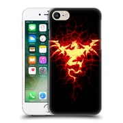 Official Christos Karapanos Dragons Mark Stamp Fire Hard Back Case For Apple Iphone 7