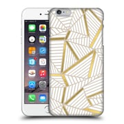 Official Project M Abstract Lines Two Tone Golden Hard Back Case For Apple Iphone 6 Plus / 6S Plus