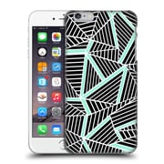 Official Project M Abstract Lines Two Tone Black Mint Hard Back Case For Apple Iphone 6 Plus / 6S Plus