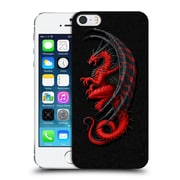 Official Christos Karapanos Dragons Master Red Hard Back Case For Apple Iphone 5 / 5S / Se