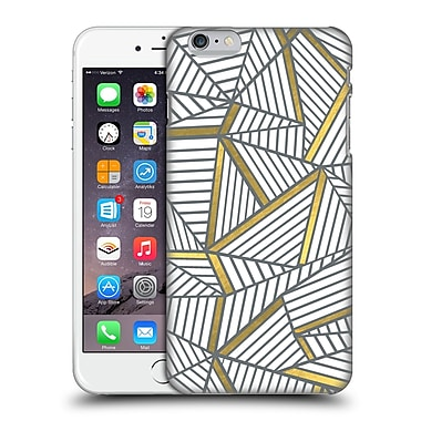Official Project M Abstract Lines Two Tone White Gold Hard Back Case For Apple Iphone 6 Plus / 6S Plus