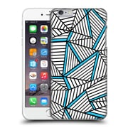 Official Project M Abstract Lines Two Tone White Electric Hard Back Case For Apple Iphone 6 Plus / 6S Plus
