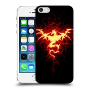Official Christos Karapanos Dragons Mark Stamp Fire Hard Back Case For Apple Iphone 5 / 5S / Se