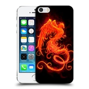 Official Christos Karapanos Phoenix On Fire Hard Back Case For Apple Iphone 5 / 5S / Se