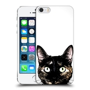 Official Nicklas Gustafsson Animals Peeking Cat Hard Back Case For Apple Iphone 5 / 5S / Se