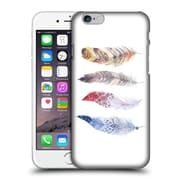 Official Kristina Kvilis Feathers Primary Hard Back Case For Apple Iphone 6 / 6S