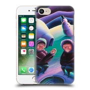 Official Rock Demarco Illustrations 2 The Snow Blower Hard Back Case For Apple Iphone 7