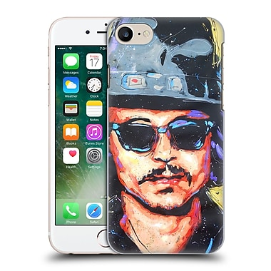 Official Rock Demarco Iconic Depp Art Hard Back Case For Apple Iphone 7