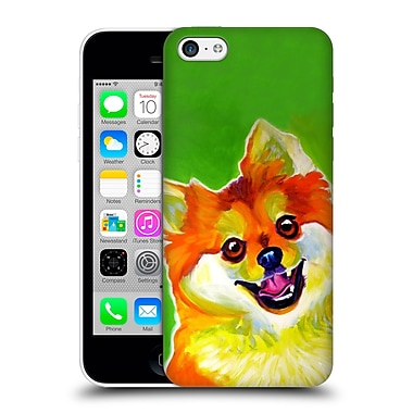 Official Dawgart Dogs 2 Pomeranian Tiger Hard Back Case For Apple Iphone 5C