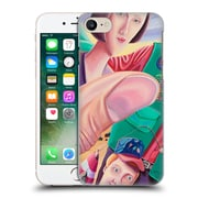 Official Rock Demarco Illustrations Grandma Catches The Big One Hard Back Case For Apple Iphone 7