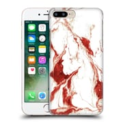 "Official Julien ""Corsac"" Missaire Abstract 4 Marbled Paint Red White Hard Back Case For Apple Iphone 7 Plus"