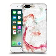 "Official Julien ""Corsac"" Missaire Abstract 4 Marbled Paint Red Grey Hard Back Case For Apple Iphone 7 Plus"