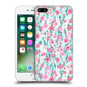 Official Jacqueline Maldonado Patterns Flower Field Pink Mint Hard Back Case For Apple Iphone 7 Plus
