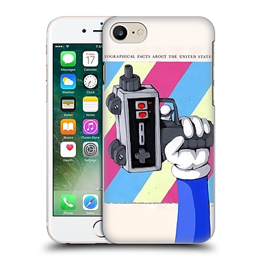 Official Ric Stultz Humanoid Robot Done Playing Games Hard Back Case For Apple Iphone 7