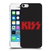 Official Kiss Logo Red Hard Back Case For Apple Iphone 5 / 5S / Se