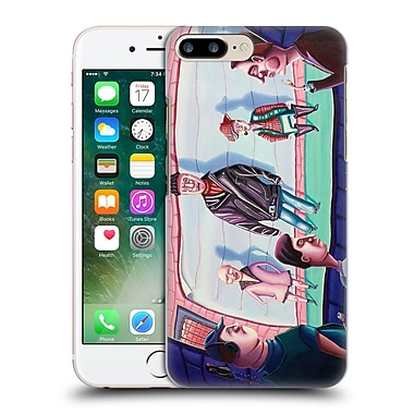 Official Rock Demarco Illustrations Book Em' Attempted Murder Hard Back Case For Apple Iphone 7 Plus