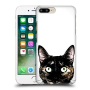 Official Nicklas Gustafsson Animals Peeking Cat Hard Back Case For Apple Iphone 7 Plus
