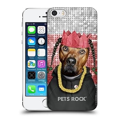 Official Pets Rock Christmas Xmas Rap Hard Back Case For Apple Iphone 5 / 5S / Se
