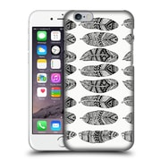 Official Pom Graphic Design Patterns Wild Feathers Hard Back Case For Apple Iphone 6 / 6S