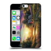Official Chuck Black Cabin The Evening Routine Hard Back Case For Apple Iphone 5C