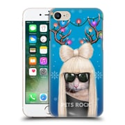 Official Pets Rock Christmas Xmas Gg Hard Back Case For Apple Iphone 7