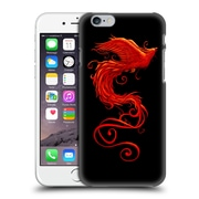 Official Christos Karapanos Phoenix 2 Bird 2 Hard Back Case For Apple Iphone 6 / 6S