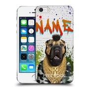Custom Customised Personalised Pets Rock Custom Case Fool Hard Back Case For Apple Iphone 5 / 5S / Se