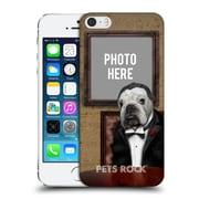 Custom Customised Personalised Pets Rock Custom Case Dog Father Hard Back Case For Apple Iphone 5 / 5S / Se