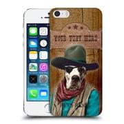 Custom Customised Personalised Pets Rock Custom Case Cowboy Hard Back Case For Apple Iphone 5 / 5S / Se
