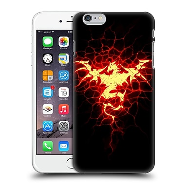 Official Christos Karapanos Dragons Mark Stamp Fire Hard Back Case For Apple Iphone 6 Plus / 6S Plus