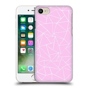 Official Project M Abstract Outline Pink Hard Back Case For Apple Iphone 7